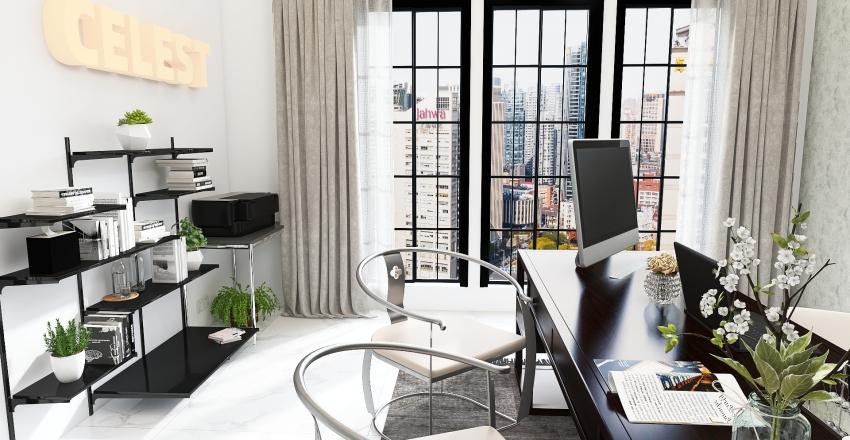 celest office Interior Design Render