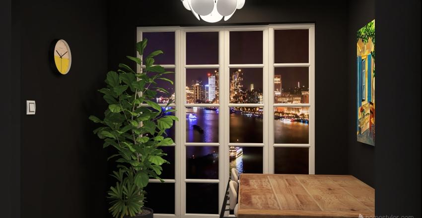 apartment in nyc Interior Design Render