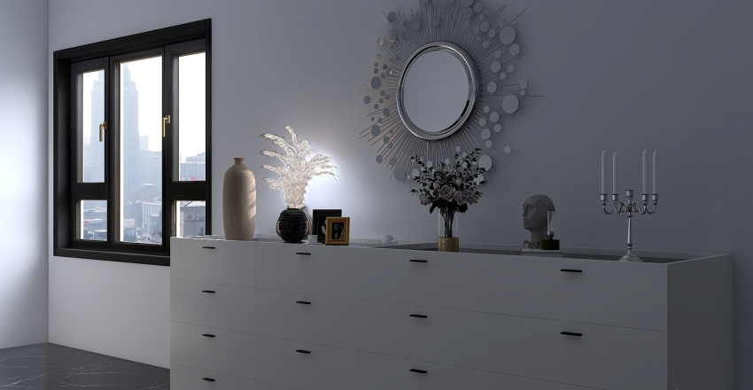 Our Classical Cool Interior Design Render