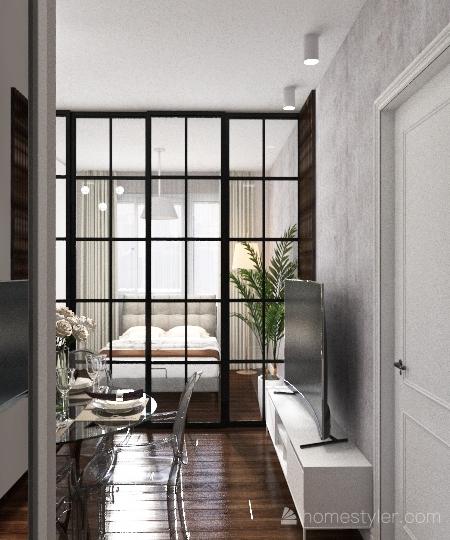 Mieszkanie 4 - Sylwia Interior Design Render