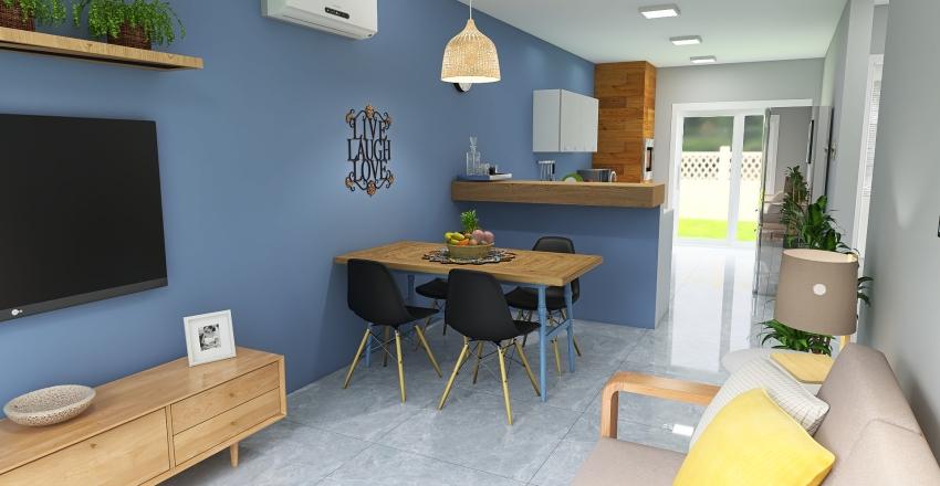 Casa Praia Interior Design Render