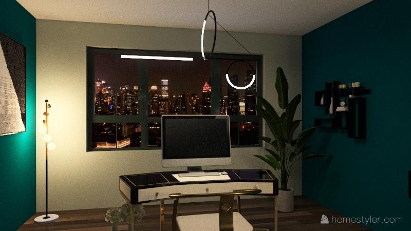 Appartamento a due piani Interior Design Render