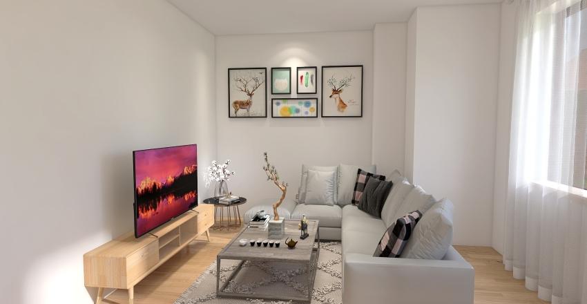 NEW FLAT Interior Design Render