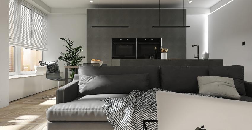 MINI APARTAMENTO Interior Design Render