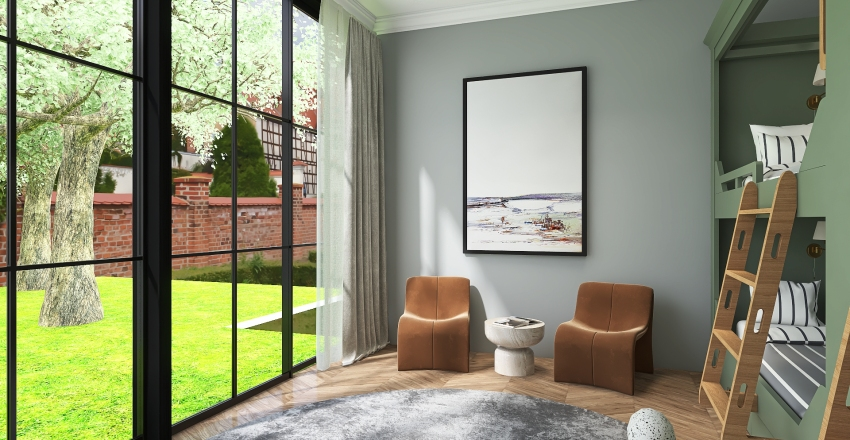 Plant Interior Design Render