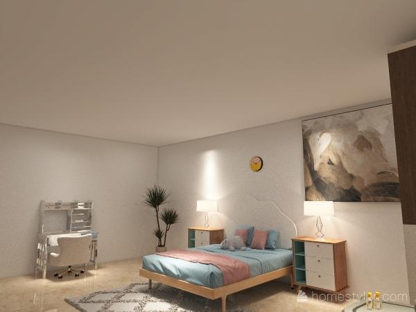 Bedroom. Interior Design Render