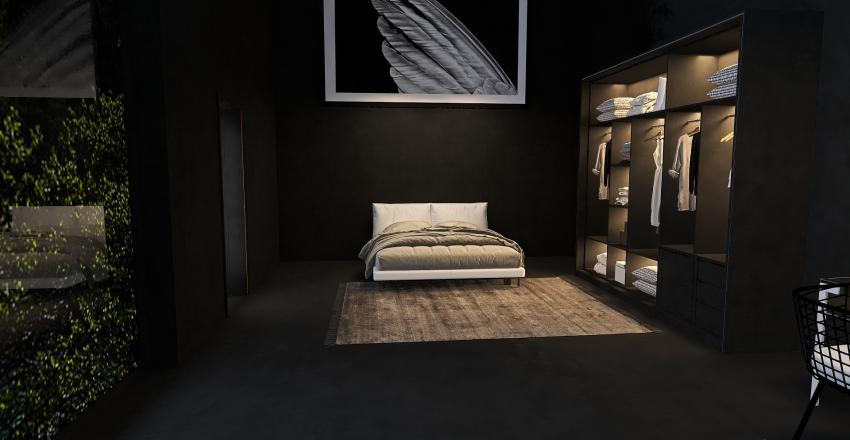 Moutain Hideout Interior Design Render