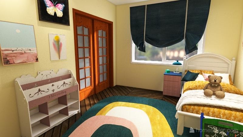 Mr. K's House Interior Design Render