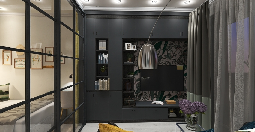 Квартира для пары  Interior Design Render