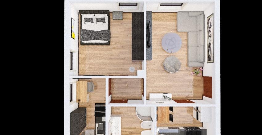 casa 3d Interior Design Render