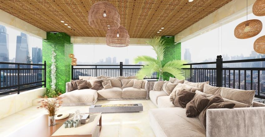 Apartamento STS Interior Design Render