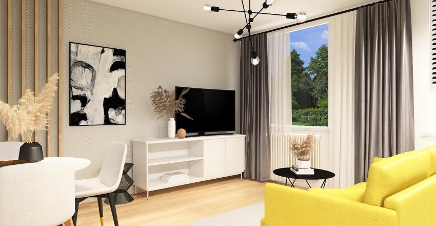 Konwaliowa Konin Interior Design Render
