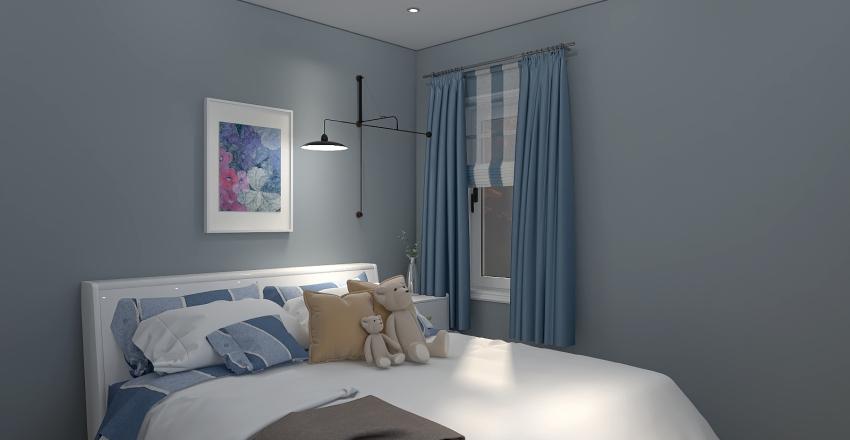 Black Forest Cabin Interior Design Render