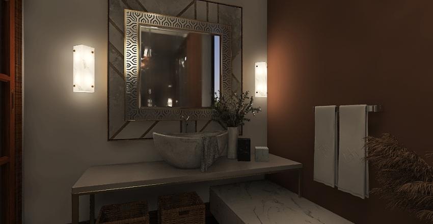 Bathroom Style Interior Design Render