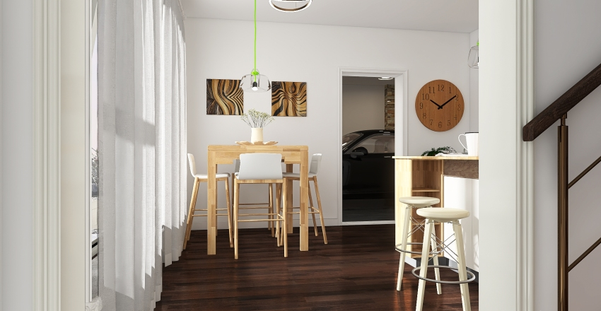 Ski Lodge Interior Design Render