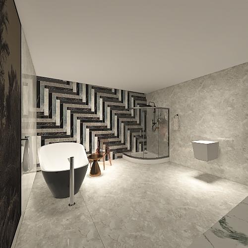 30 en suite Interior Design Render