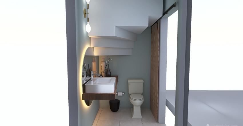 Baño remodelacion_Martha Sanchez Interior Design Render