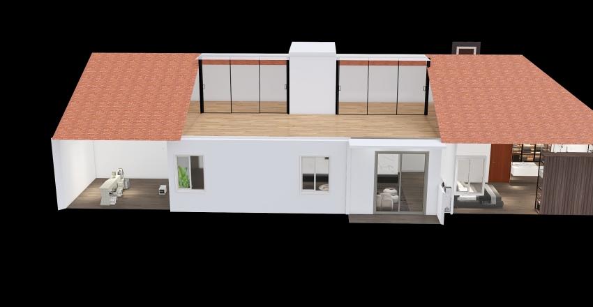 plan avec mesures Interior Design Render