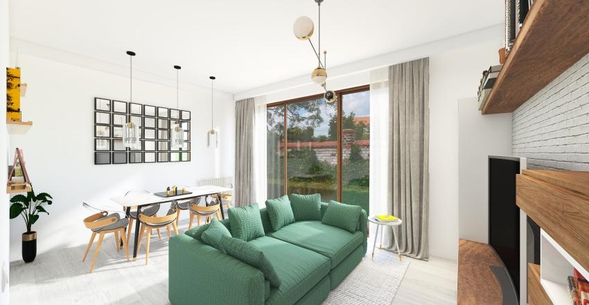 Ivona's - Living room Interior Design Render