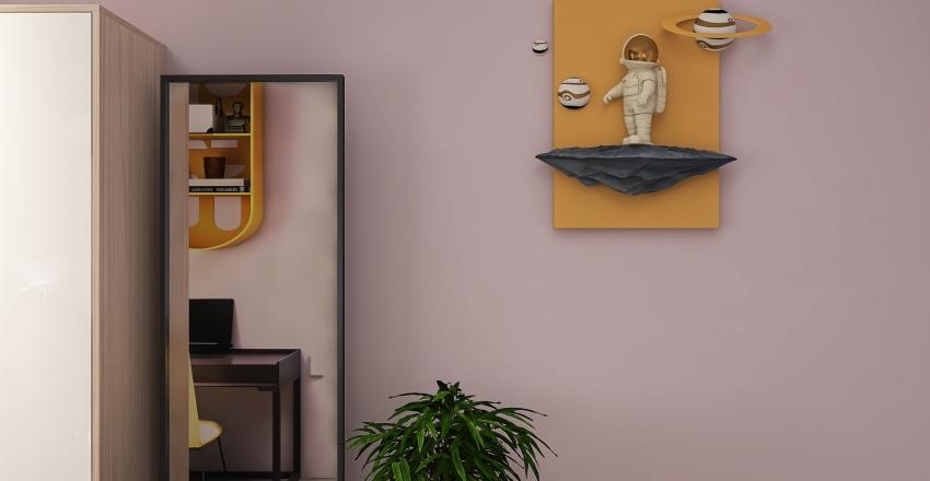 Интерьер квартиры. Interior Design Render