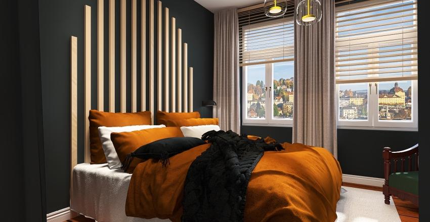 Lisa Schlafzimmer Interior Design Render