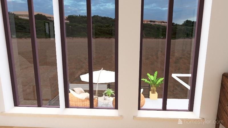 Luxury Hawaiian Beach House Interior Design Render