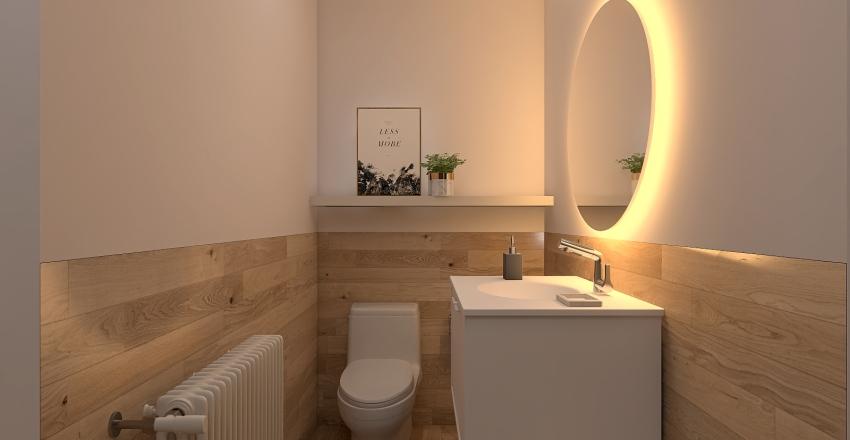 Casa montaña Interior Design Render