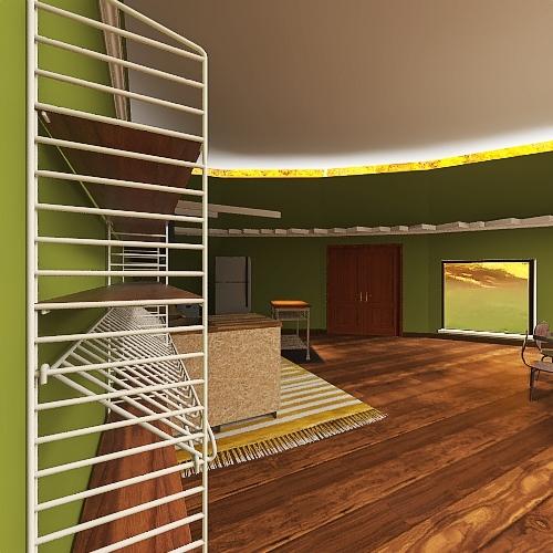 round tiramisu2 Interior Design Render