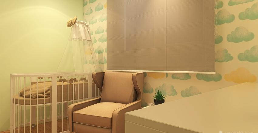 Quarto de bebê  Interior Design Render