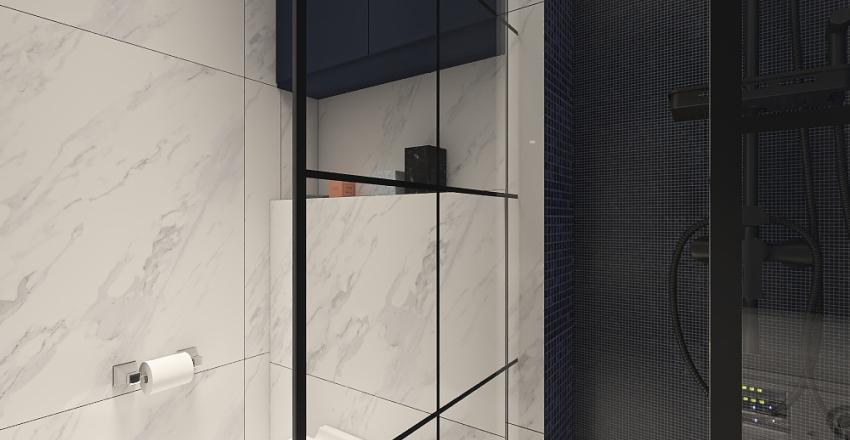 Метрополис минималистичный 44м2 Interior Design Render