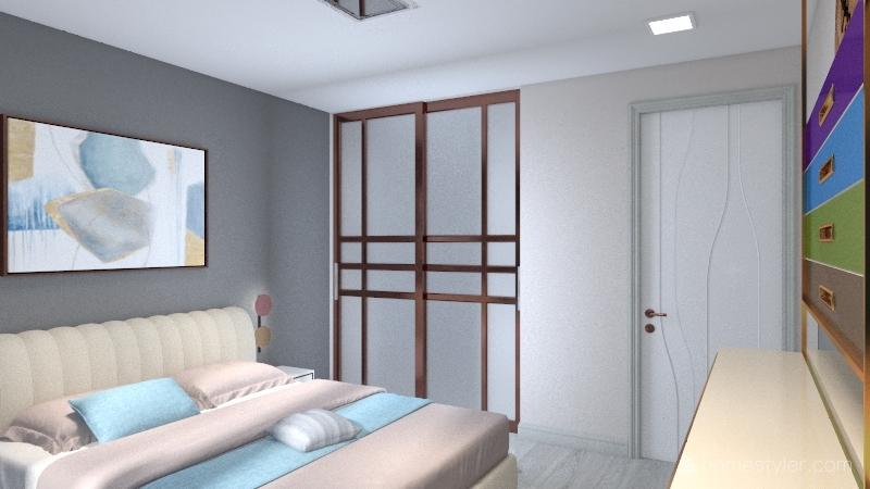 первый Interior Design Render