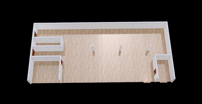 Ayub Bhai Ware House Plan Interior Design Render