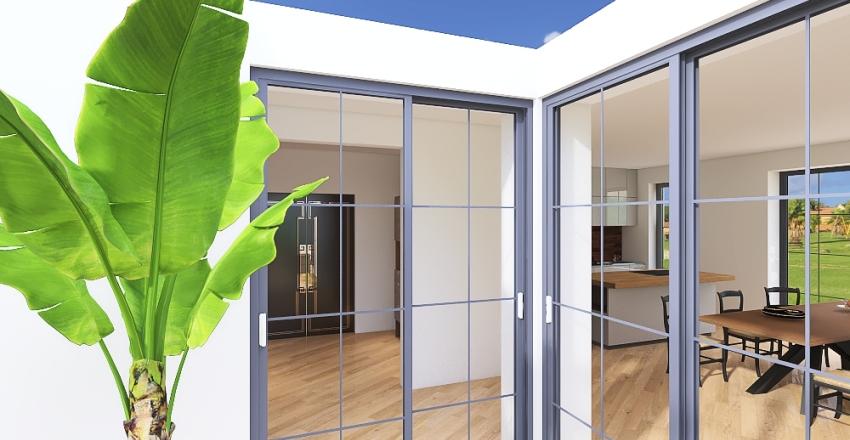 v2 Dopasowany bardziej z garderobami Interior Design Render