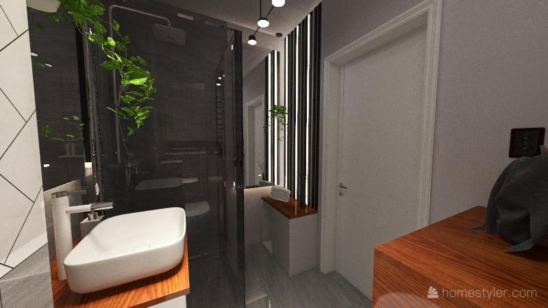 My toilet Interior Design Render