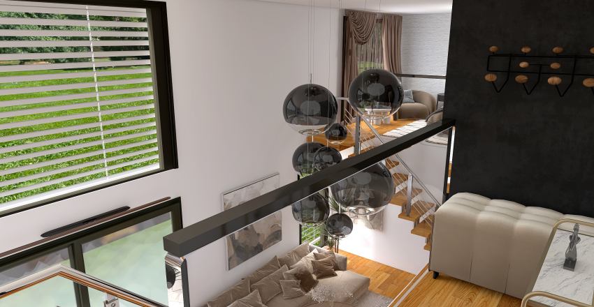 Loft BVR Interior Design Render