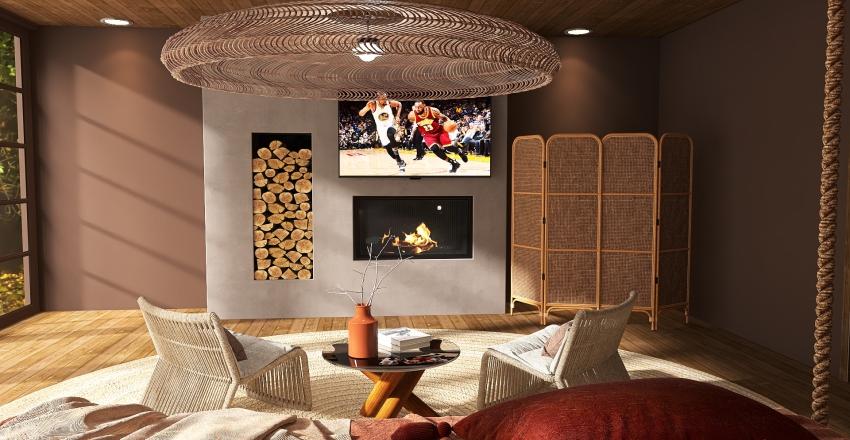 Zen Zone Wabi Sabi Interior Design Render