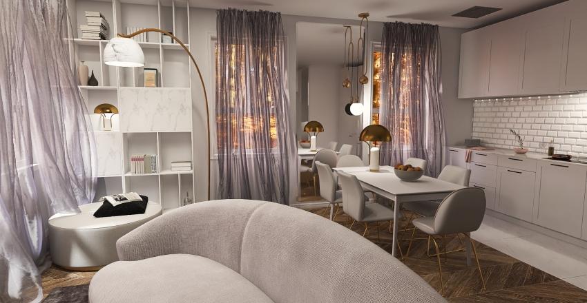 Glamour Interior Design Render