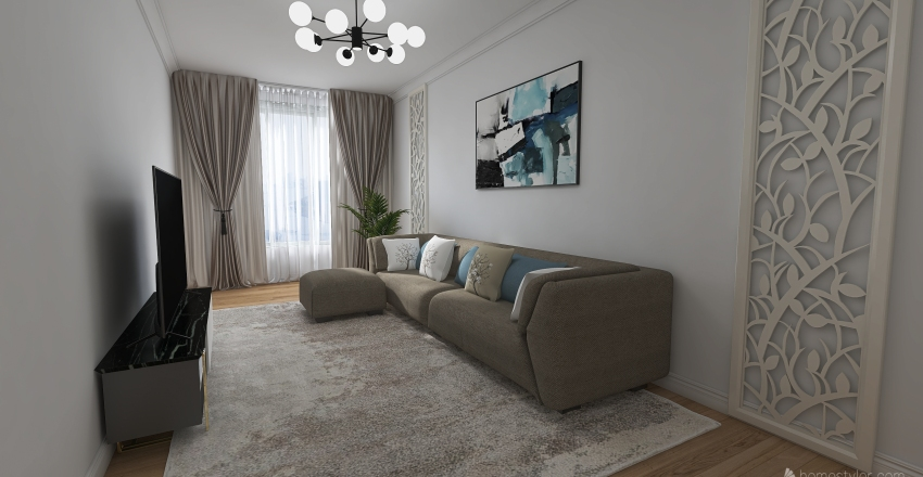 Copy of 2 room Interior Design Render