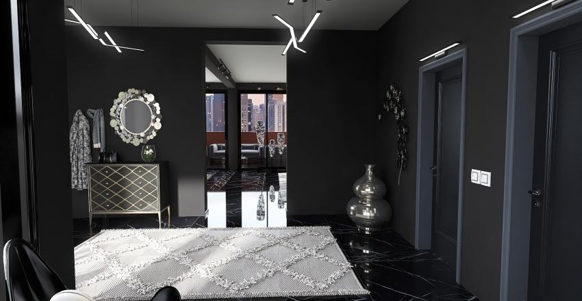 Luxury Modern Appartment Interior Design Render