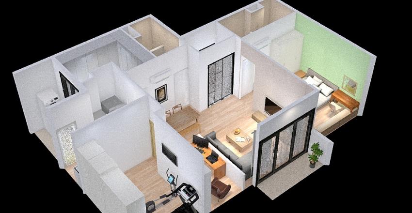 江翠北-挪威森林 Interior Design Render
