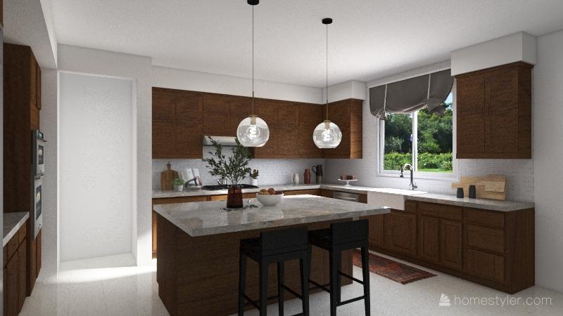 Bell Kitchen Interior Design Render