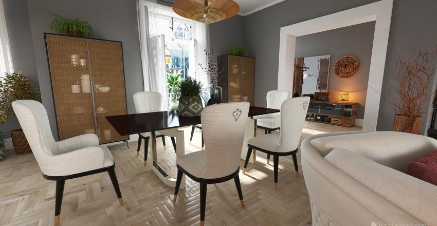 Reforma en apartamento clasico Interior Design Render