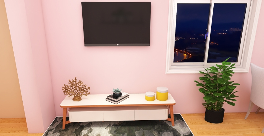 CASA 60M² Interior Design Render