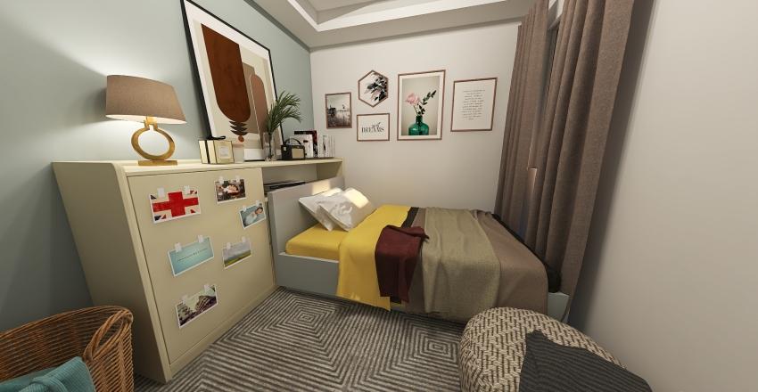Life Simple Living Interior Design Render