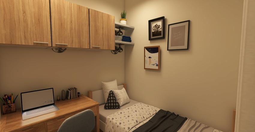 Korean Room 2x2 M Interior Design Render