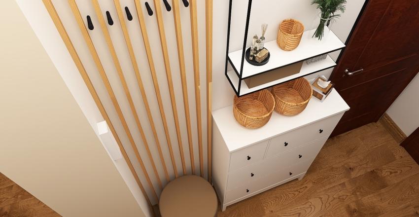 Przedpokój Interior Design Render