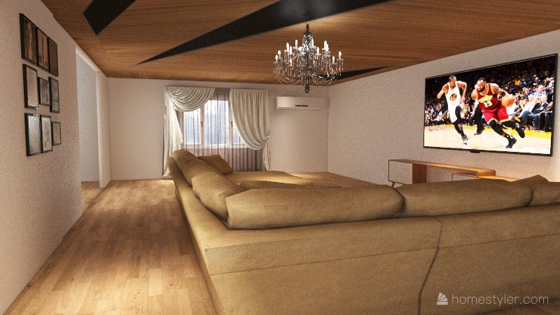 บ้าน2ชั้น Interior Design Render