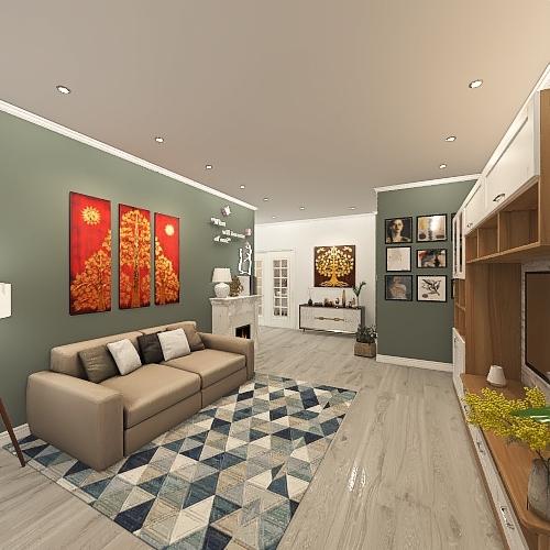CASA MELINA Interior Design Render
