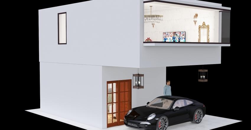 mini hotel 3 Interior Design Render