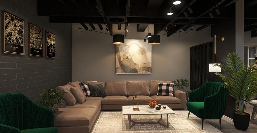 MR-Ahmed villa Interior Design Render